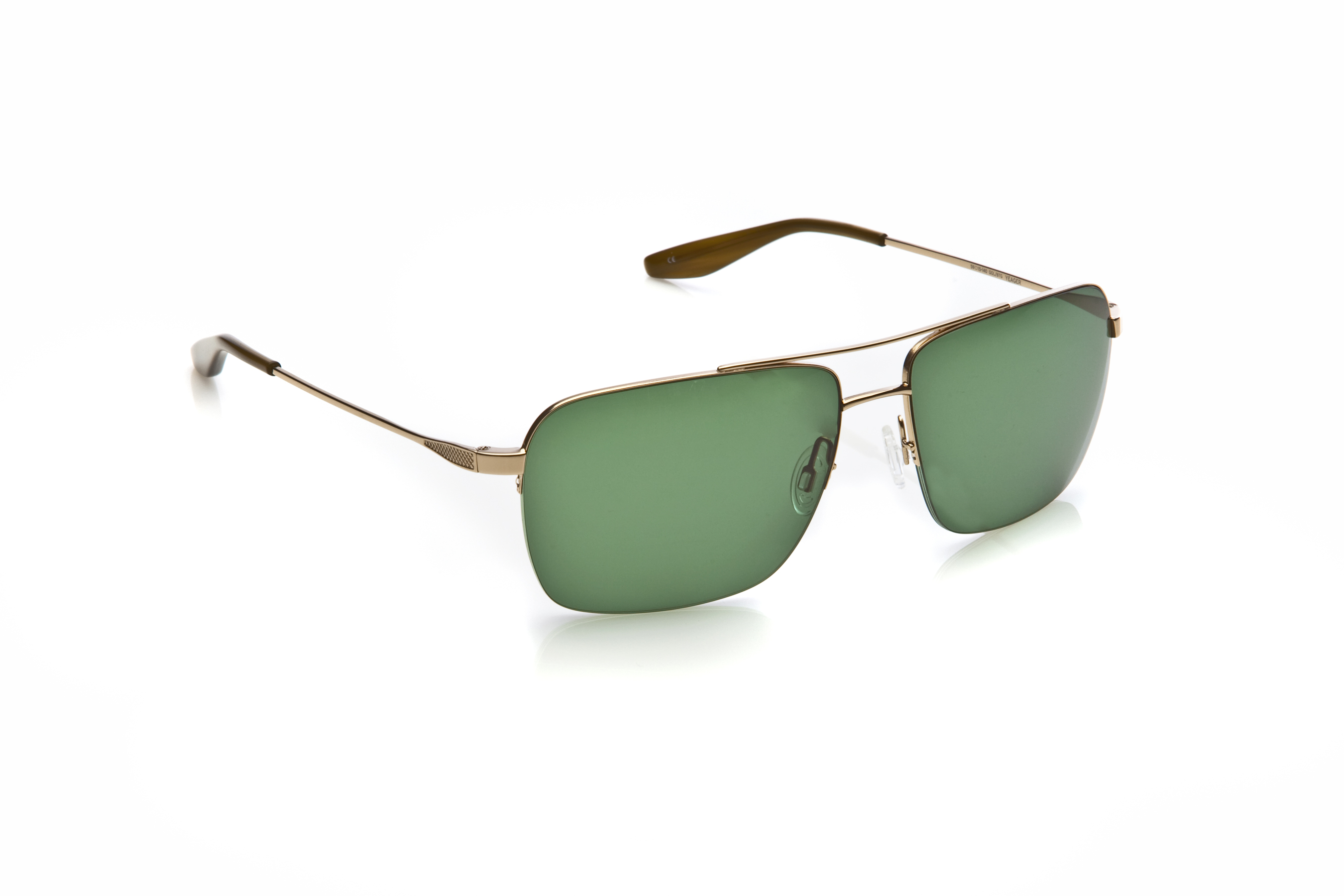 Barton Perreira\'s Yeager in Gold Glasses Frames | Hoff Optometry